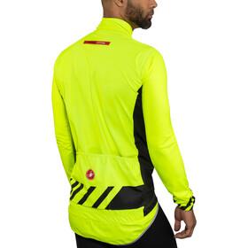 Castelli Pro Fit Light Rain Jacket Herrer, yellow fluo